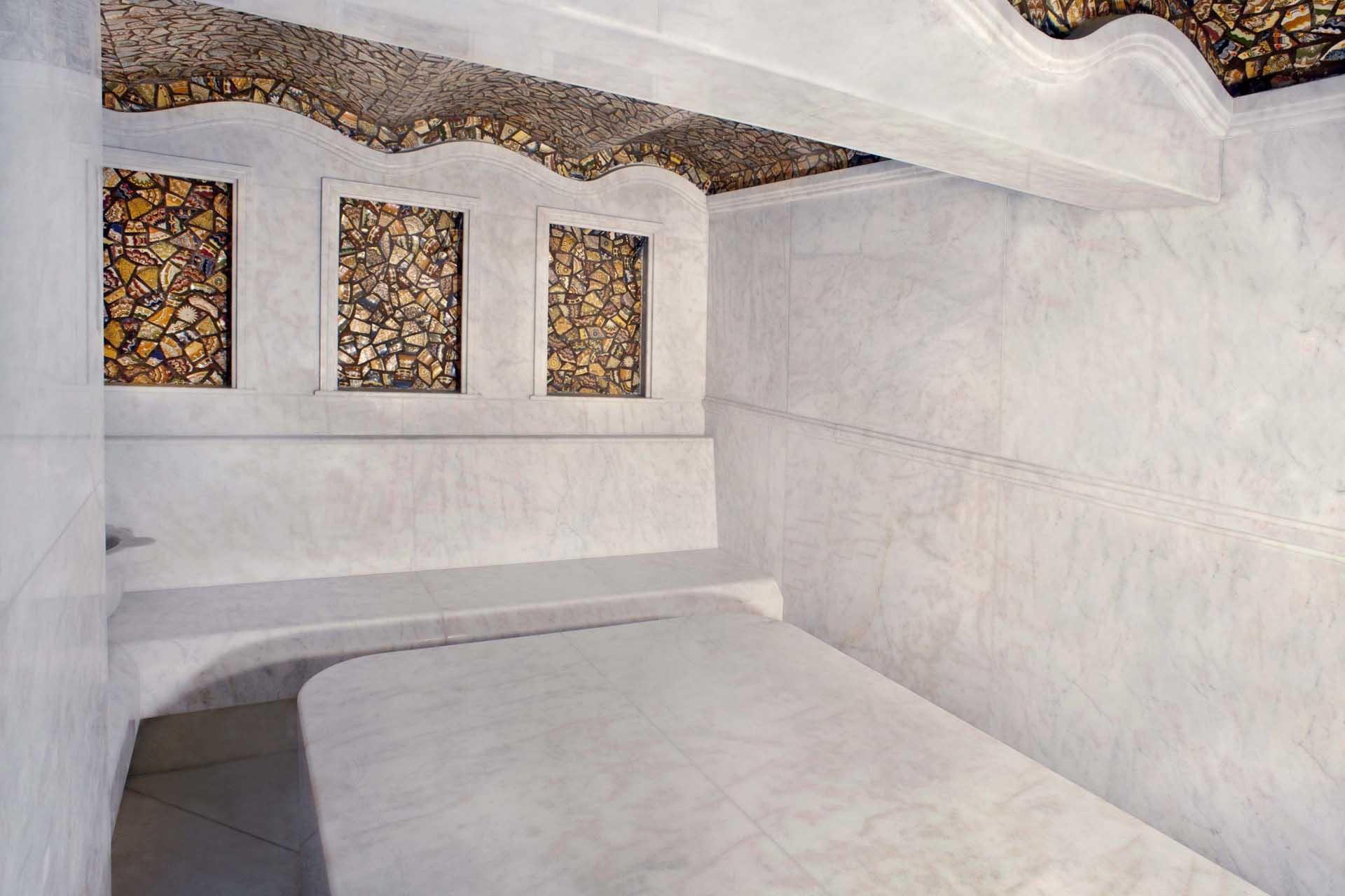 Облицовка на турска баня