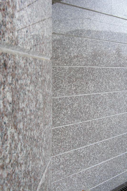 Външна облицовка на сграда- обрязан гнайс