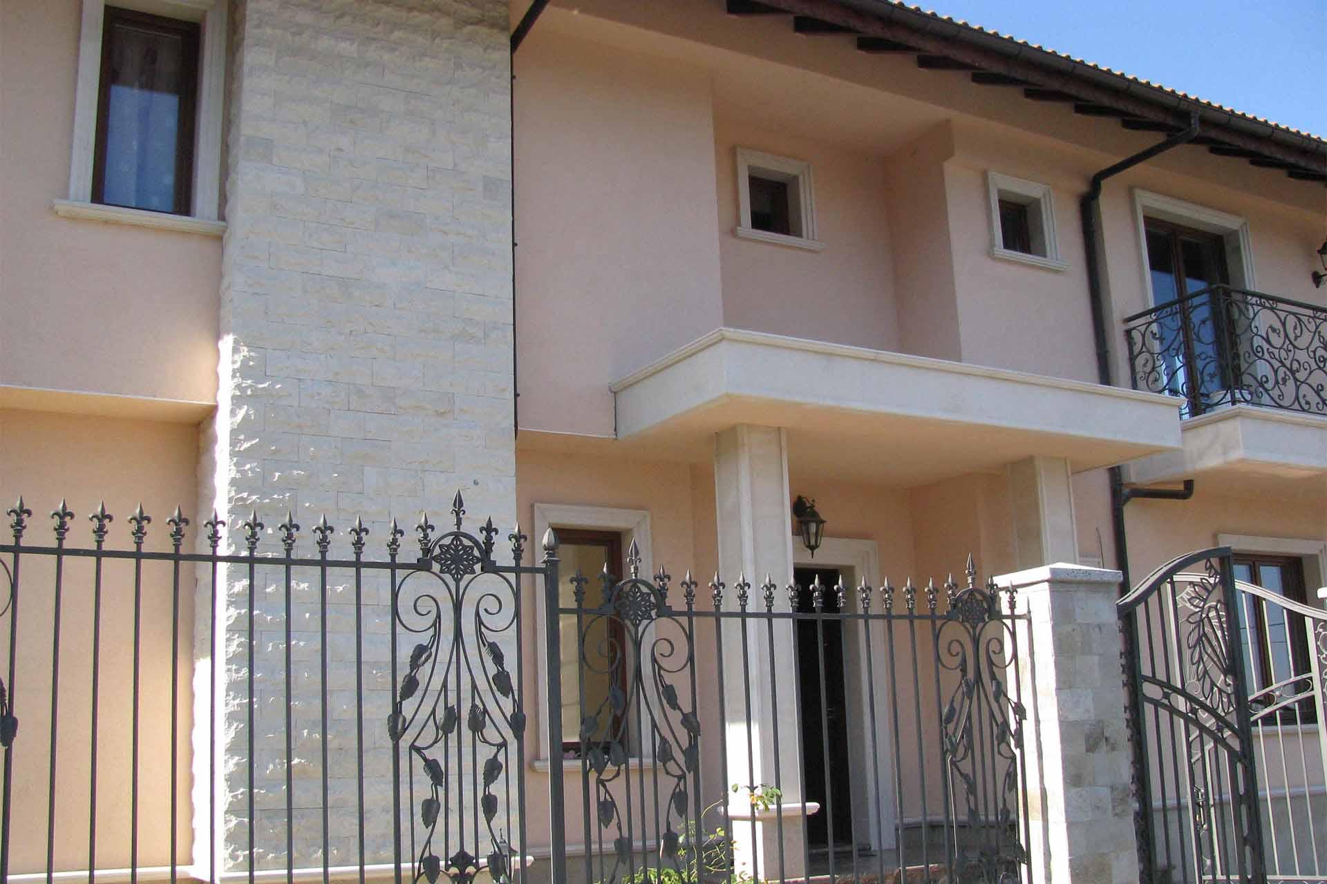 Облицовка на фасада - частен дом 3