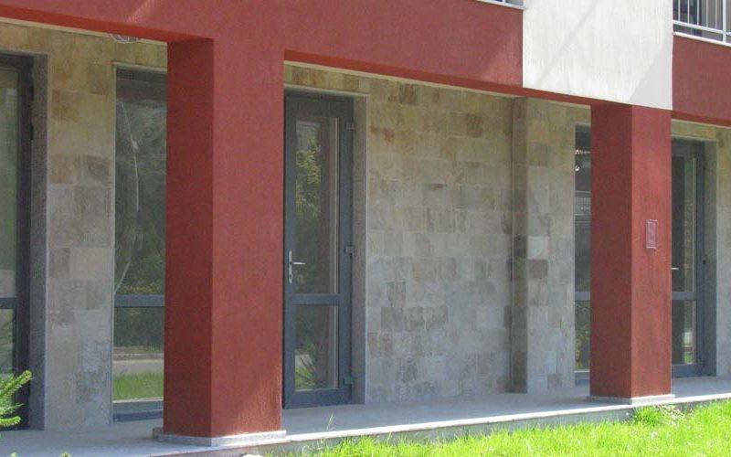 Облицовка на фасада - Студентски град