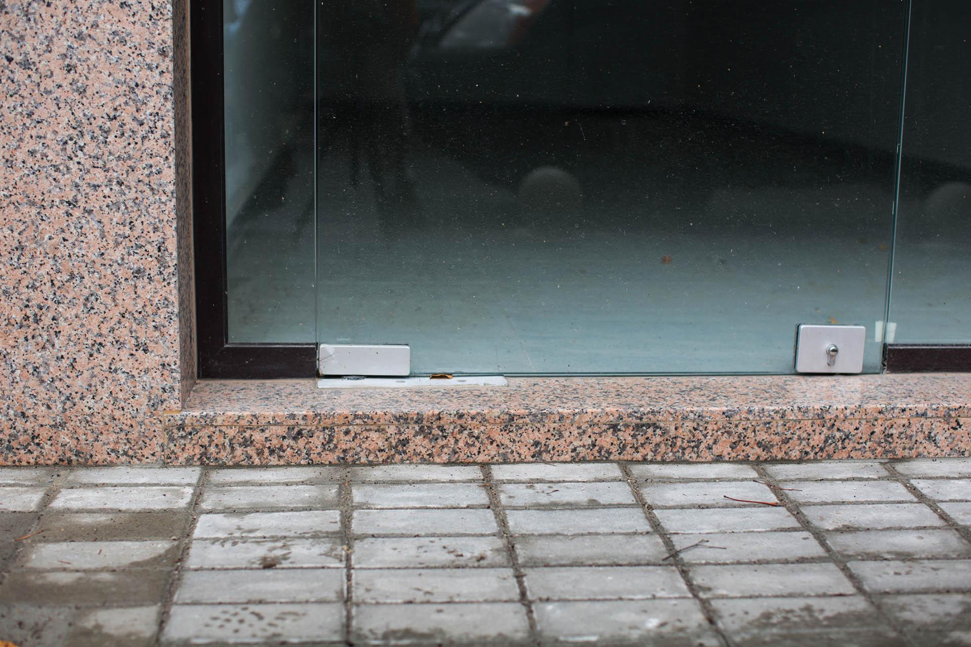 Облицовка с гранит - подова настилка, стъпало