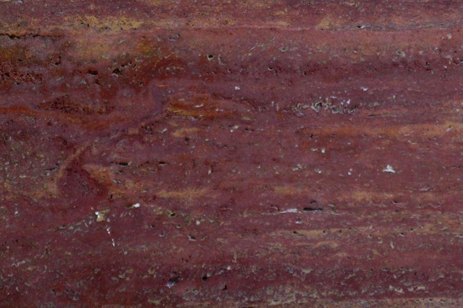 Тъмночервен травертин Red Persian
