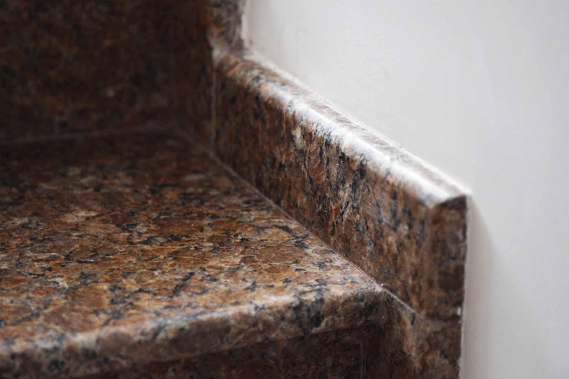Облицовка стълбище - естествен камък
