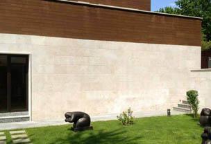 Облицовки на фасада от естествен камък